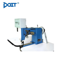DT 82D computerized double needle surface sewing machine for shoes